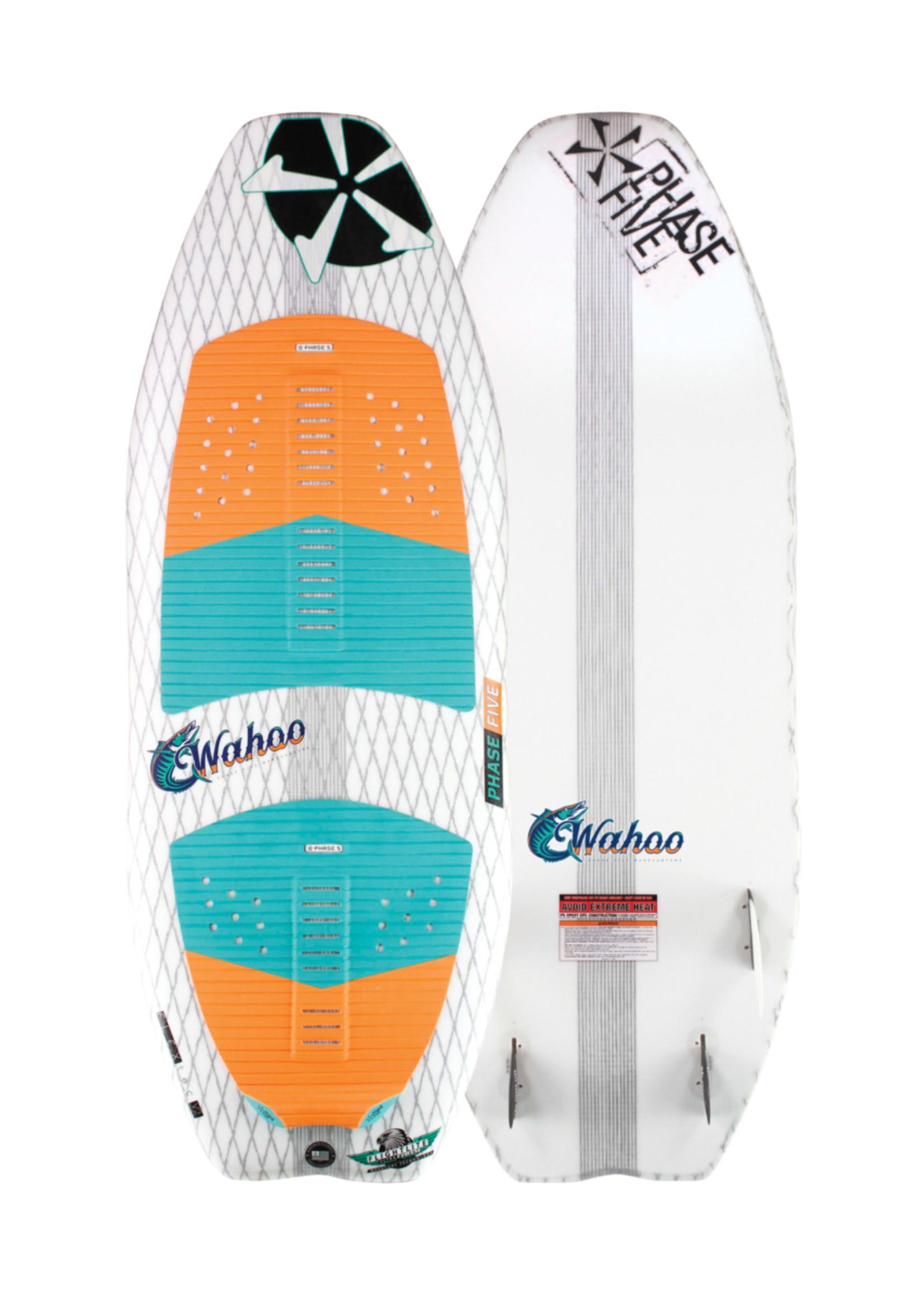 "Phase Five Phase Five Wahoo 53"" Surf-Style Wakesurf"