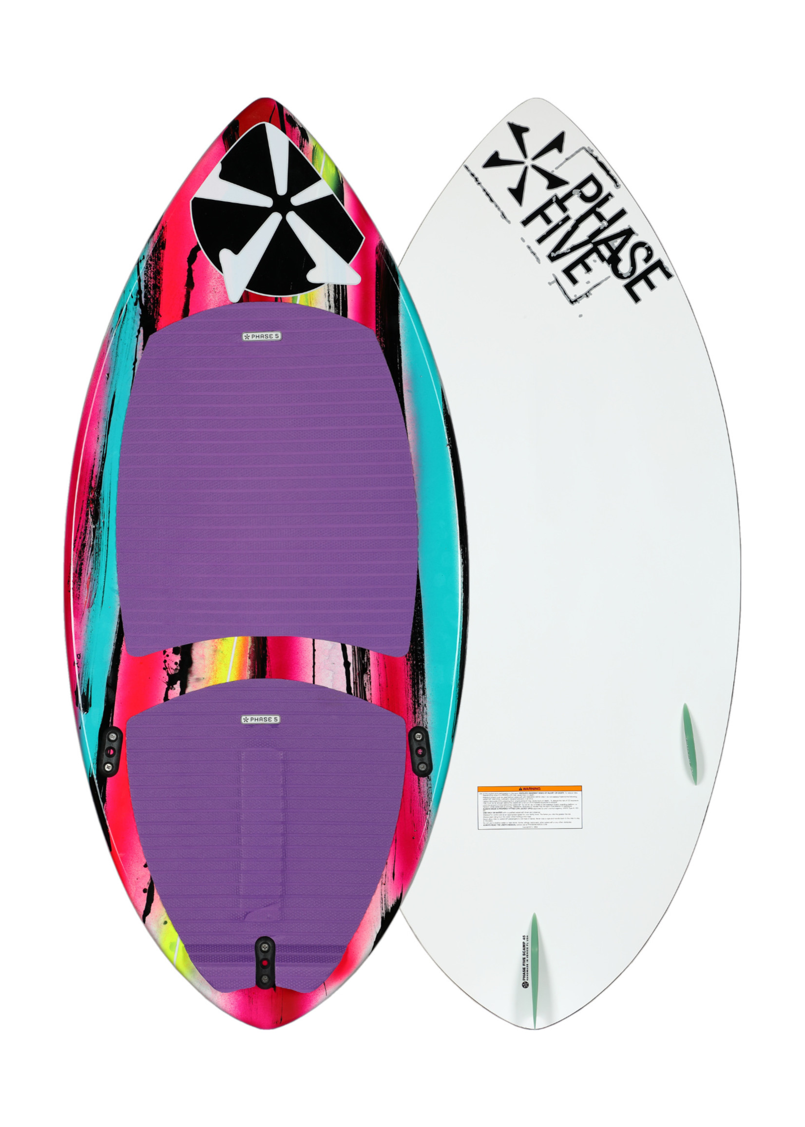 """Phase Five Phase Five Scamp 45"""" Youth Skim Style Wakesurfer"""