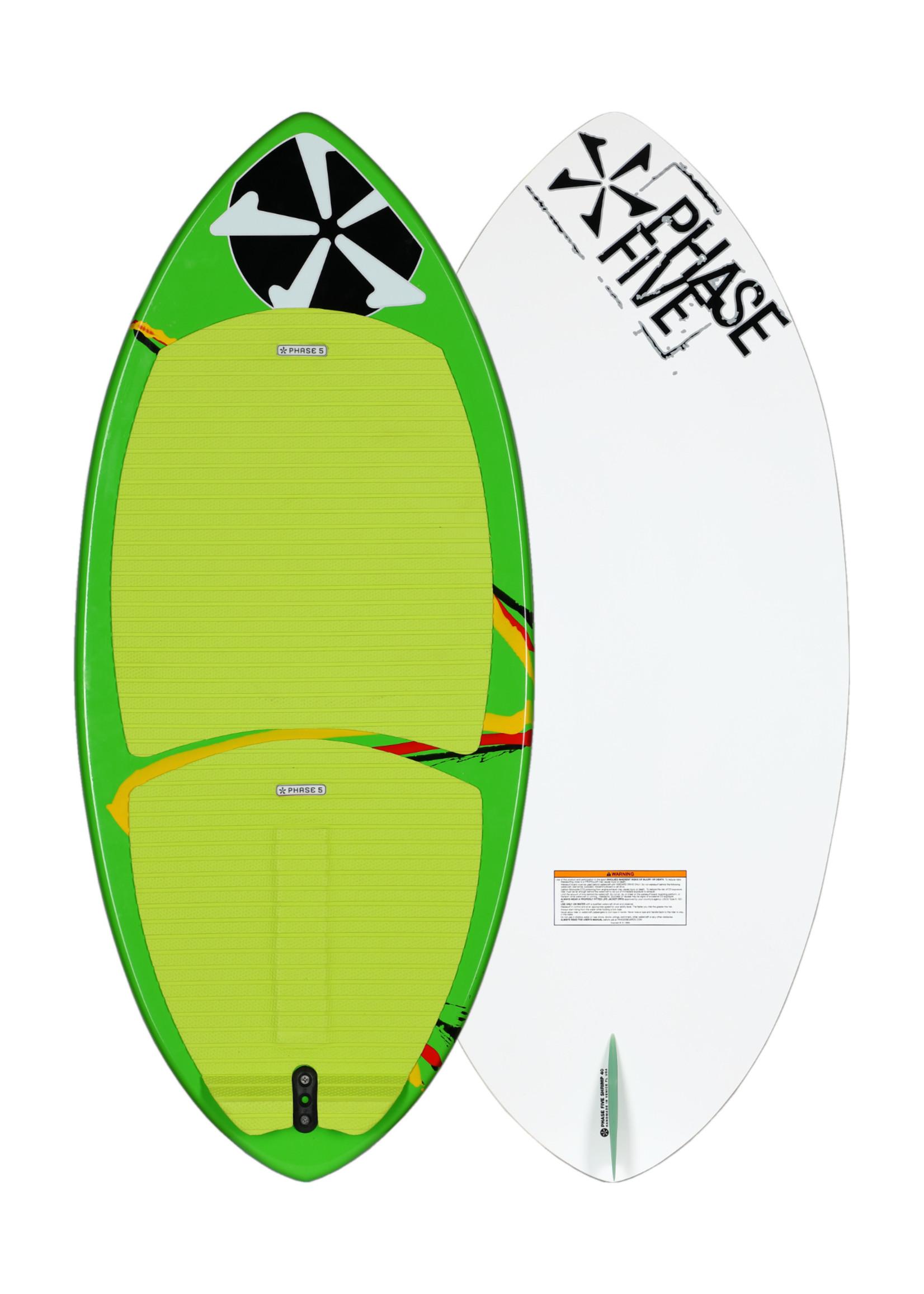"Phase Five Phase Five Shrimp 40"" Skim-Style Wakesurfer für Kinder"