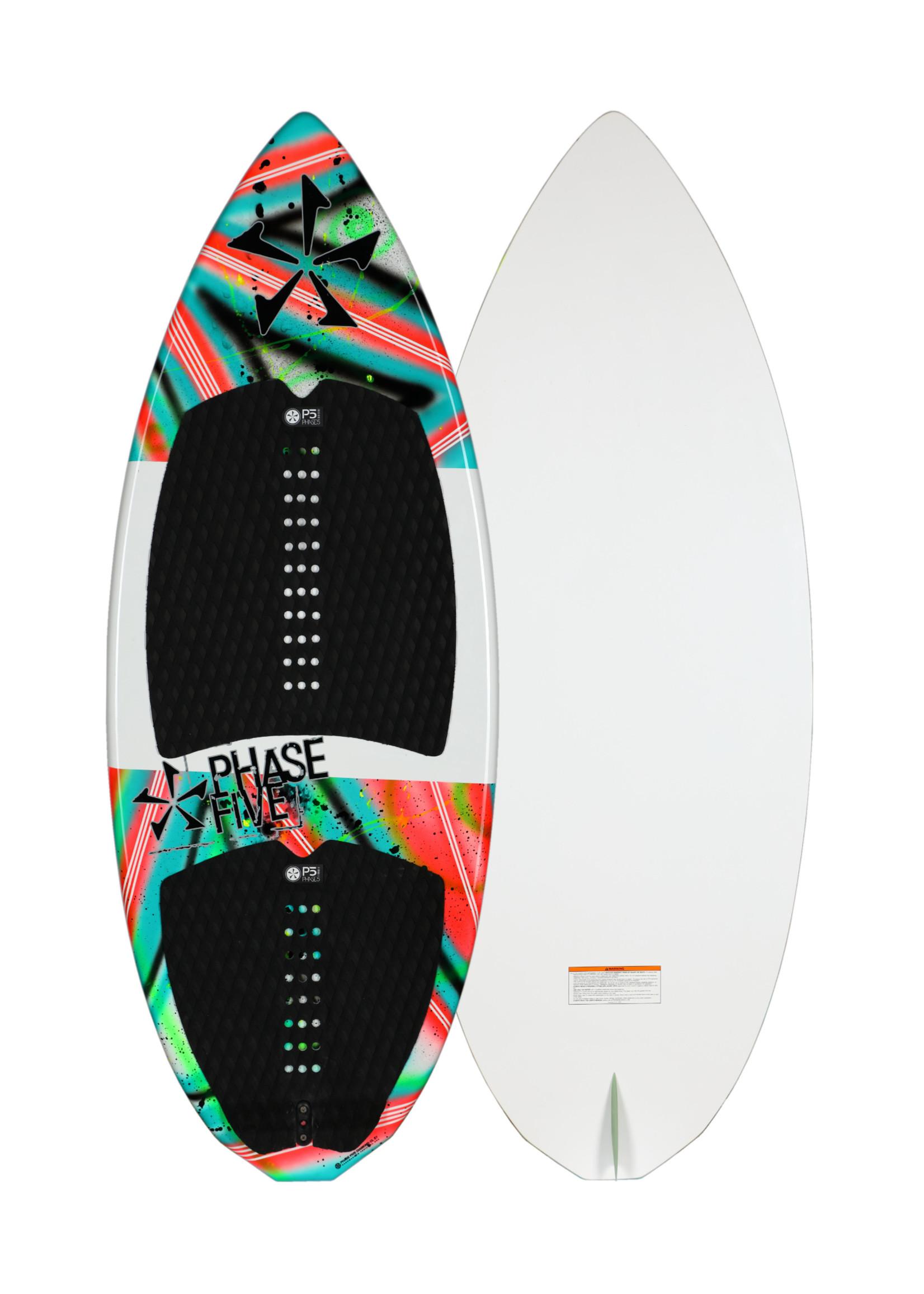 "Phase Five Phase Five Diamond CL 57"" Skim-Style Wakesurf"