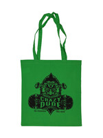 Crazy Dude Tote Bag Destroyer Apple Green