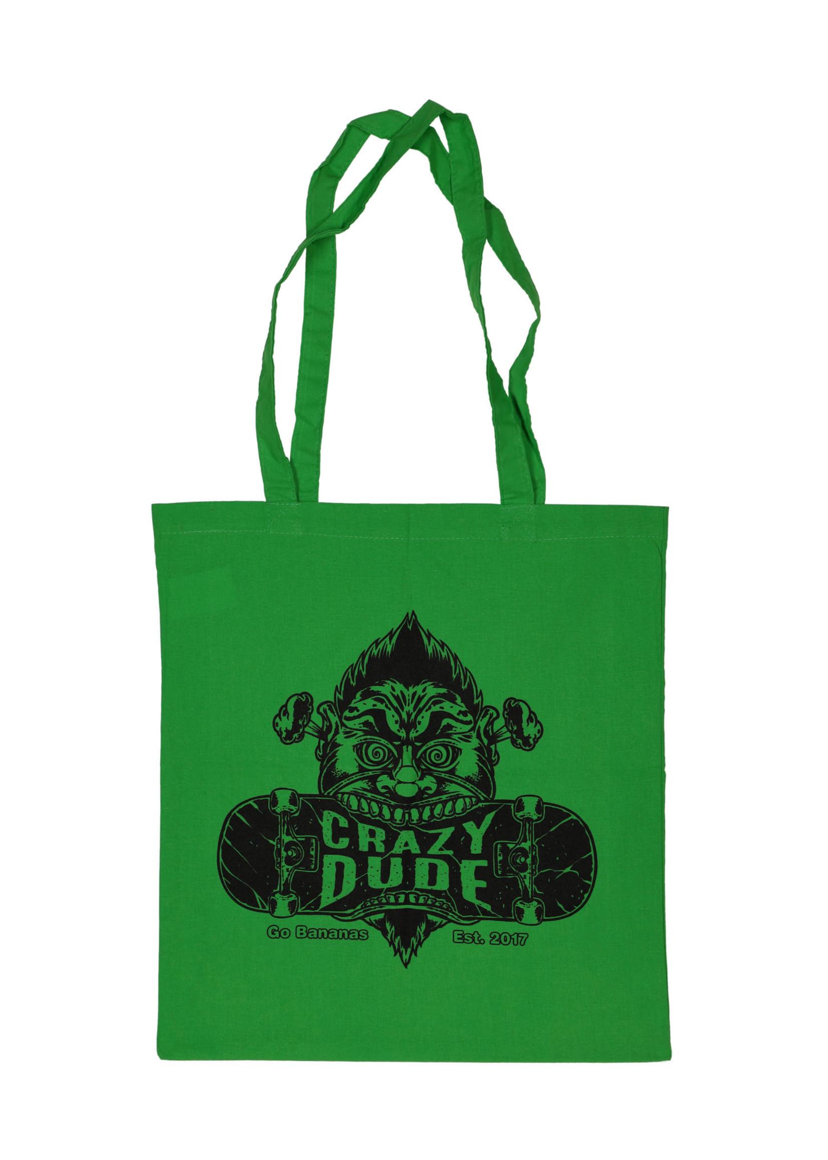 Crazy Dude Crazy Dude Einkaufstasche Destroyer Apfelgrün