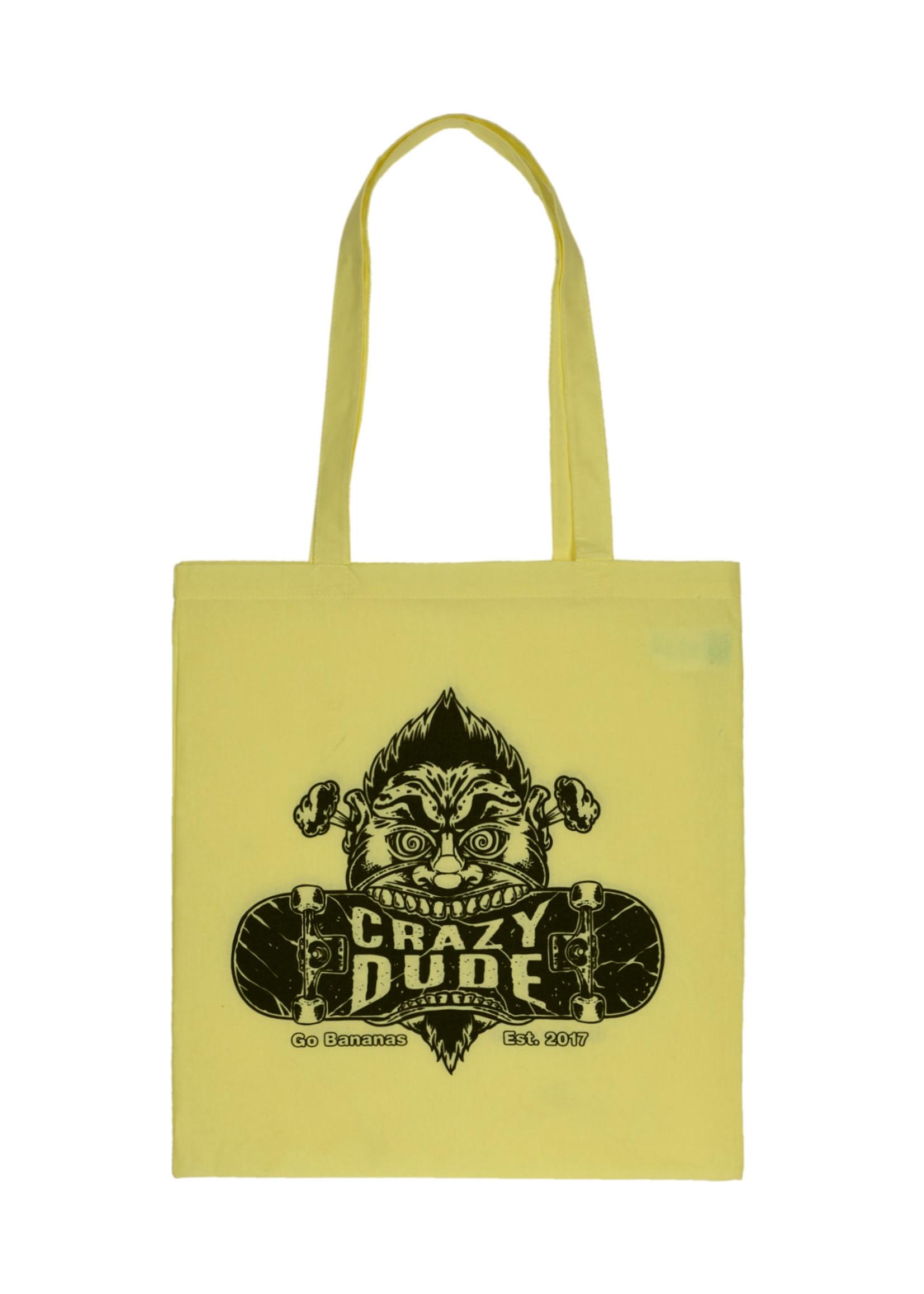 Crazy Dude Crazy Dude Tote Bag Destroyer Pastel Lemon