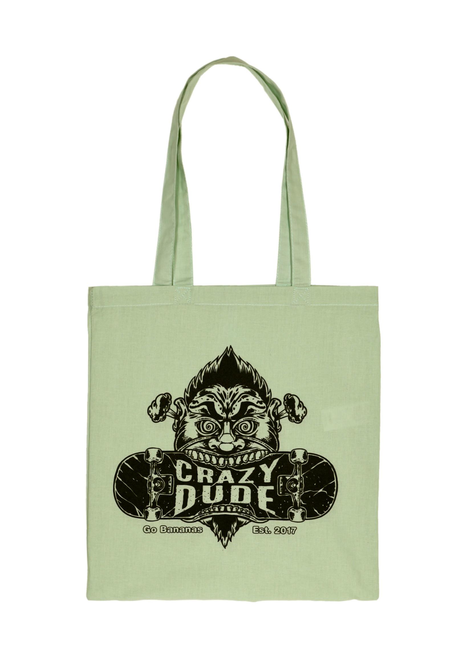 Crazy Dude Crazy Dude Tote Bag Destroyer Pastel Mint