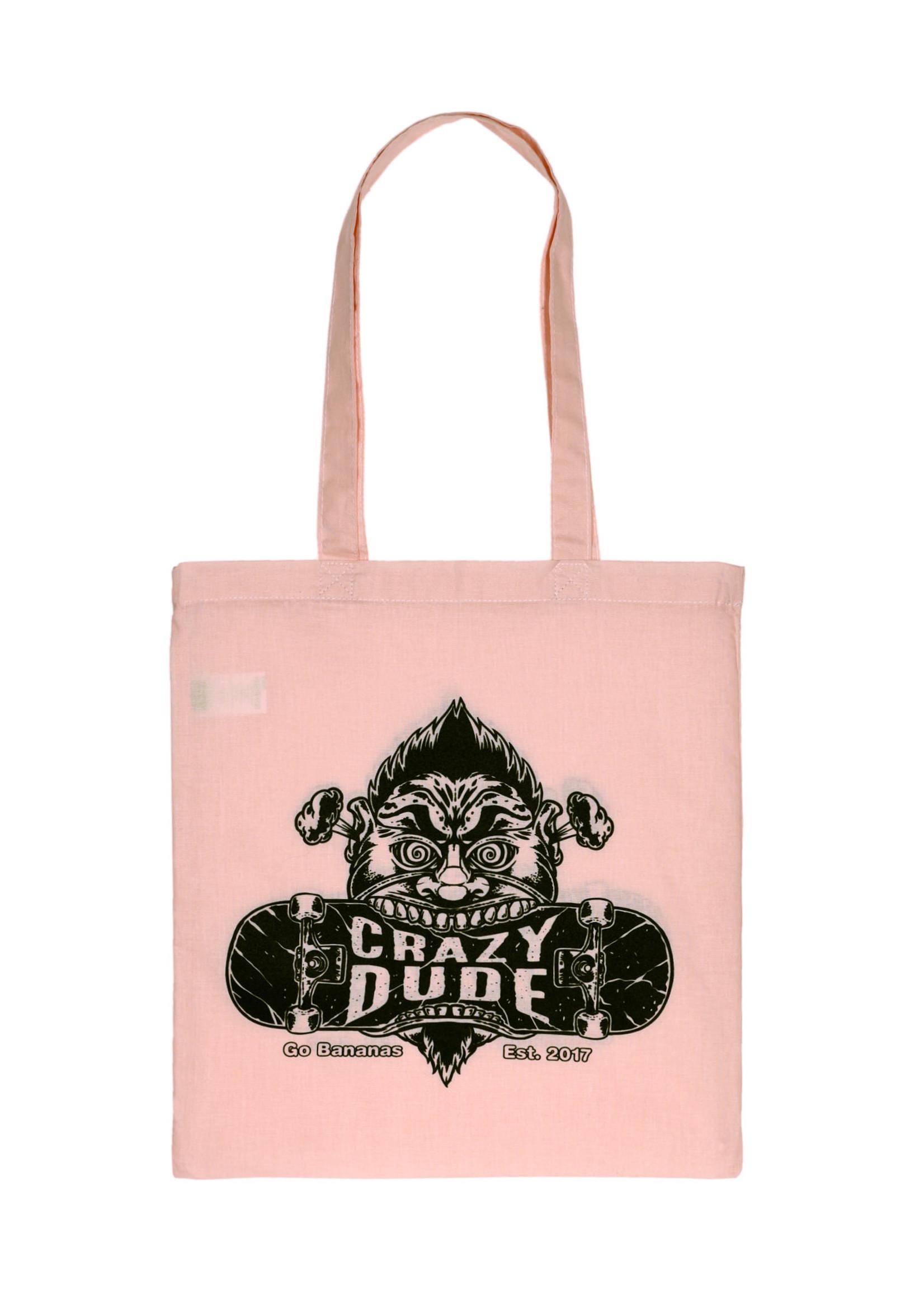 Crazy Dude Crazy Dude Einkaufstasche Destroyer Rosa
