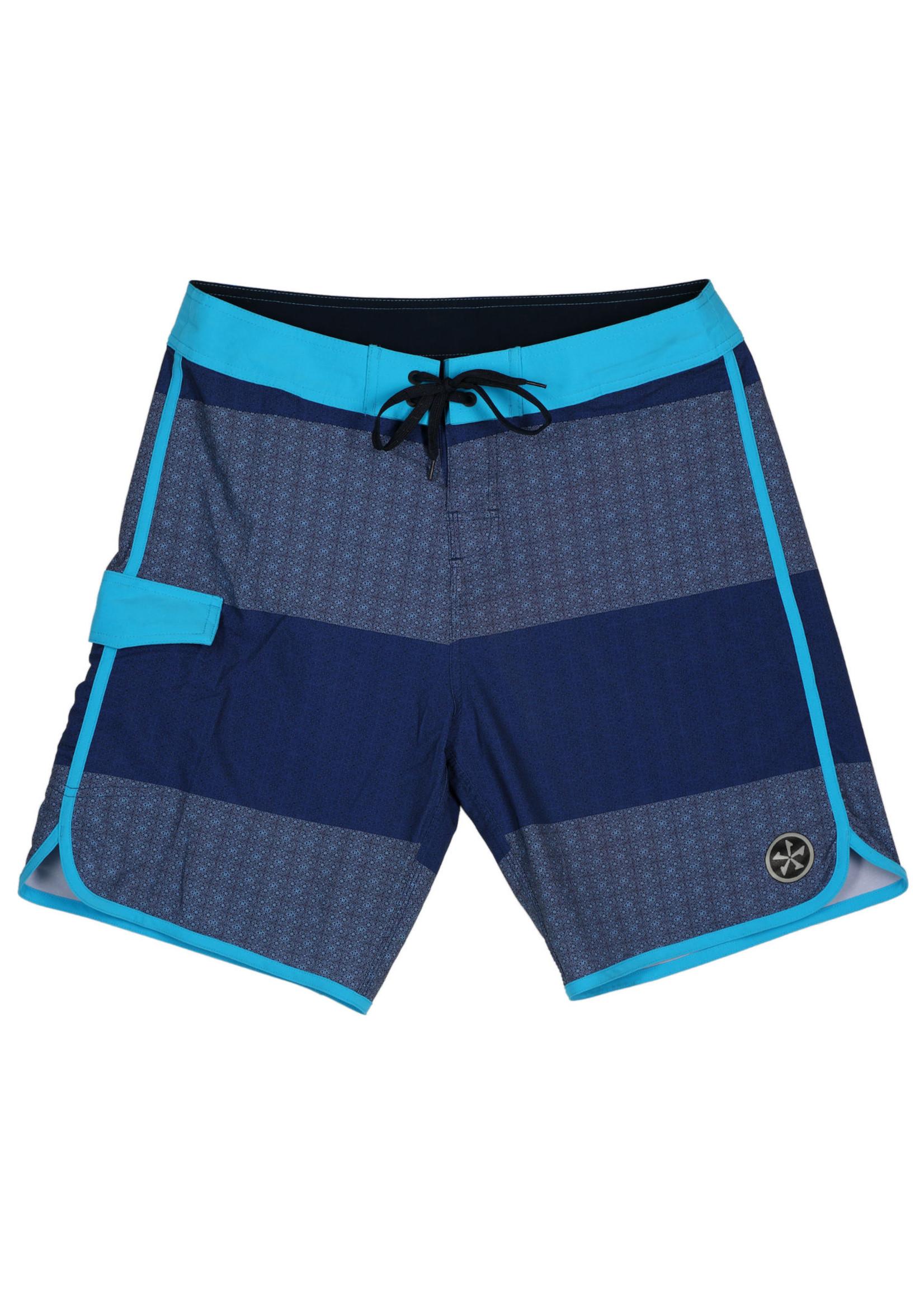 Phase Five Phase Five Mens Boardshorts Black/Blue