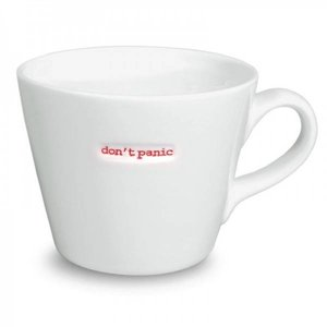 Keith Brymer Jones Bucket Mug 'Don't Panic!' - Keith Brymer Jones