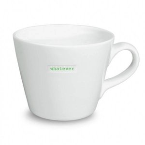 Keith Brymer Jones Bucket Mug 'WHATEVER' - Keith Brymer Jones