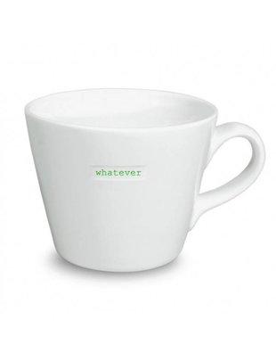 Keith Brymer Jones Bucket Mug 'WHATEVER' - Keith Brymer Jones