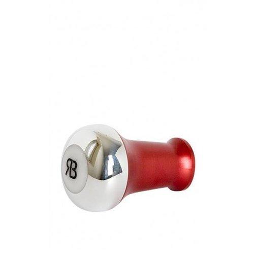 Reg Barber Reg Barber Handle Tall Hybride Polished Red - White delron