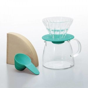 Hario Hario V60 Pour Over Kit Clair Turquoise