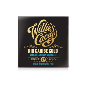 Willie's Cacao Willie's Cacao - Rio Caribe Gold - Venezuelan Dark Chocolate 72