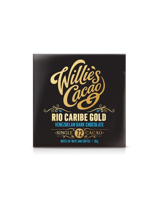 Willie's Cacao Willie's Cacao - Rio Caribe Gold - Venezuelan Dark Chocolate 72