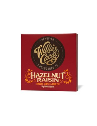 Willie's Cacao Willie's Cacao - Hazelnut Raisin - Peruvian Chulucanas 70