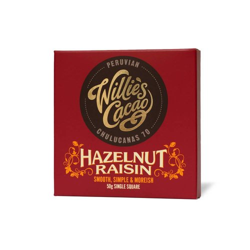 Willie's Cacao Willie's Cacao - Hazelnut Raisin - Peruvian Chulucanas 70