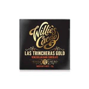 Willie's Cacao Willie's Cacao - Las Trincheras Gold -  Venezuelan Dark Chocolate 72