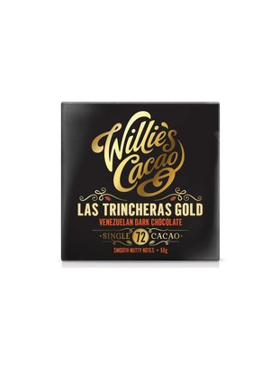 Willie's Cacao Willie's Cacao - Las Trincheras Gold -  Venezuelan Dark Chocolate 72