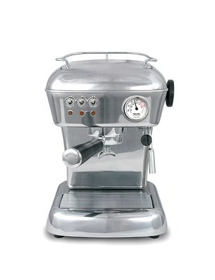 Ascaso Ascaso Dream Aluminium Polished voor losse koffie