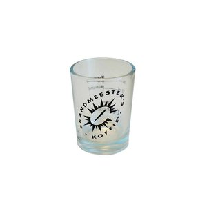 Brandmeester's Shotglas met Brandmeester´s logo