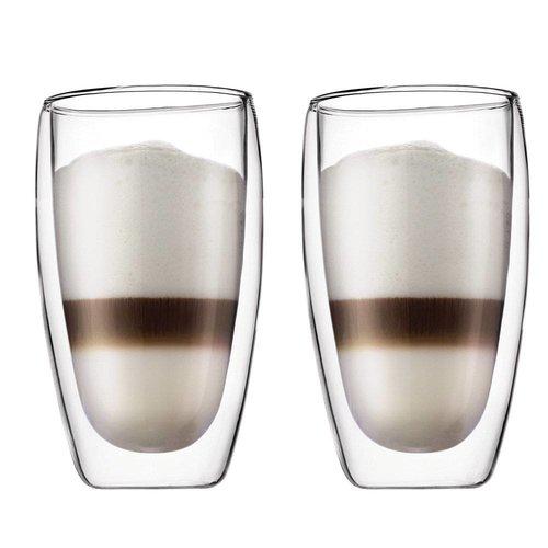 Bodum Bodum dubbelwandige glazen Pavina 0.45L [2 stuks]