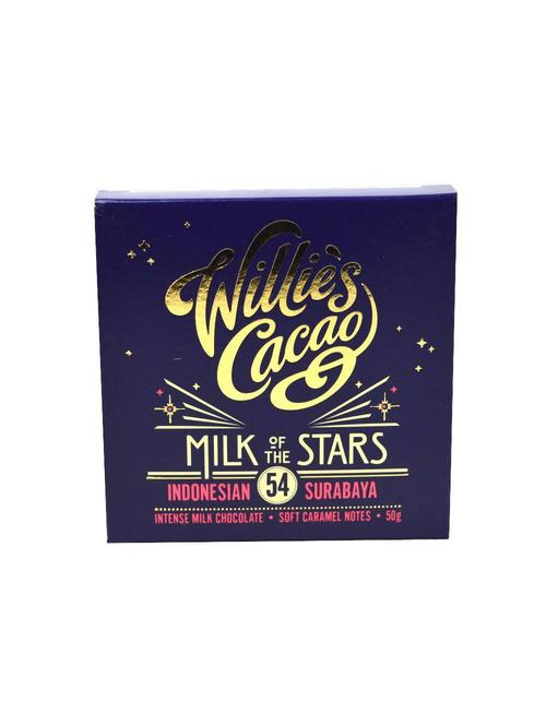 Willie's Cacao Willie's Cacao - Milk of the Stars - Indonesian 54%