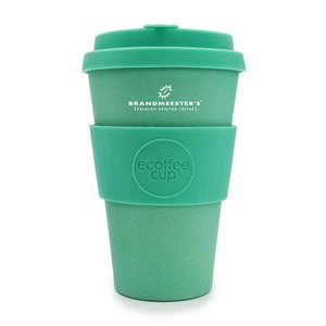 Ecoffee Cup Ecoffee Cup Turquoise 14oz groot Brandmeester's
