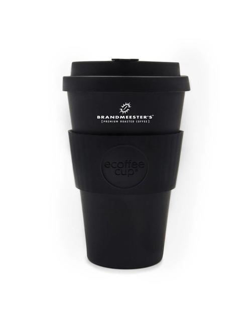 Ecoffee Cup Ecoffee Cup Zwart 14oz groot Brandmeester's