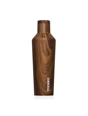 Corkcicle Corkcicle Canteen Medium Walnut Wood (16oz)