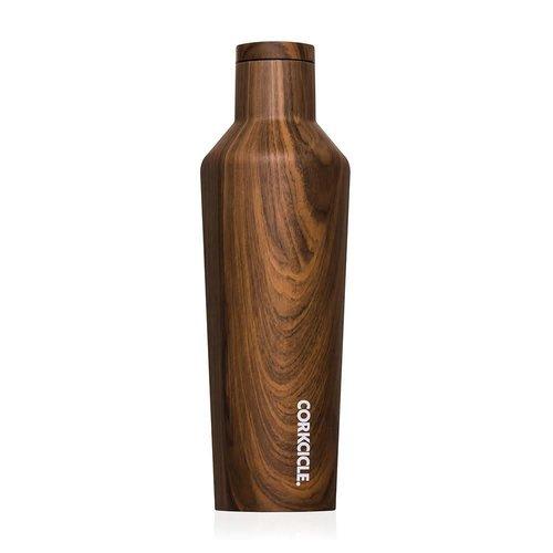 Corkcicle Corkcicle Canteen Medium Walnut Wood (16oz)