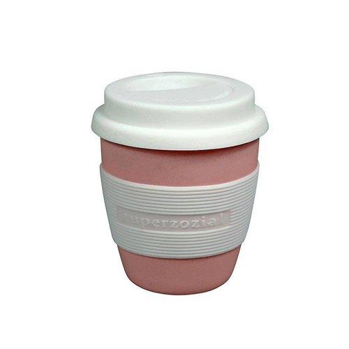 Zuperzozial Zuperzozial Mini Cruising Travel Mug Roze