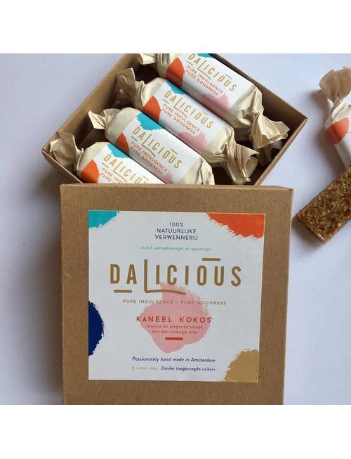 Dalicious Dalicious Kaneel / Kokos 8 x mini