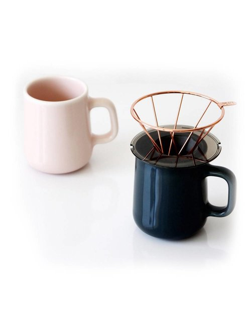 Toast Living H.A.N.D. Coffee dripper set koper