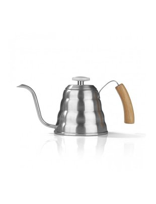 Beem BEEM Drip Kettle bamboe 1200ml + thermometer