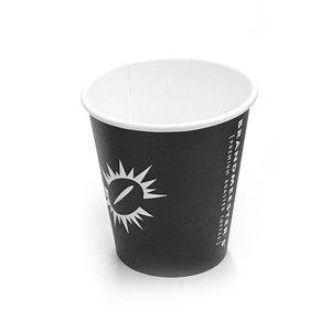 Brandmeester's Paper Cup 10 OZ Zwart Brandmeester's BIO [streng 50 stuks]