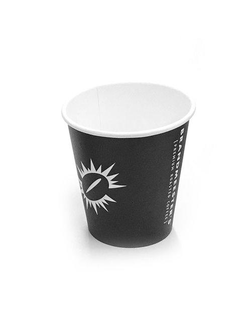 Brandmeester's Paper Cup 10 OZ Zwart Biologisch afbreekbaar [streng 50 stuks]