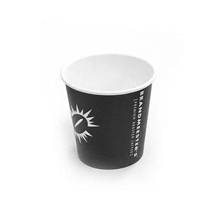 Brandmeester's Paper Cup 7oz zwart BIO [50st.]