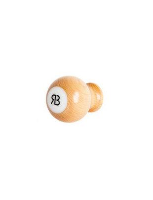 Reg Barber Reg Barber Handle Maple Short Ball White delron