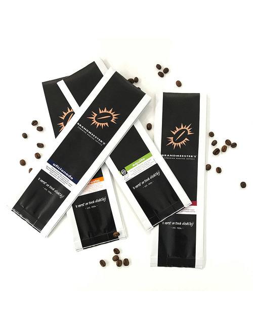 Proefpakket koffiemelanges (4 zakjes à 100 gram)
