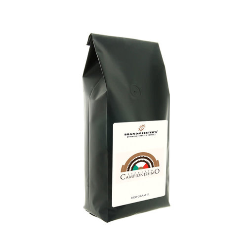 Brandmeester's Espresso Campionissimo 1000 gram in ventielzak