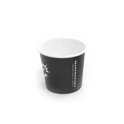 Brandmeester's Paper Cup 4oz zwart BIO [50st.]