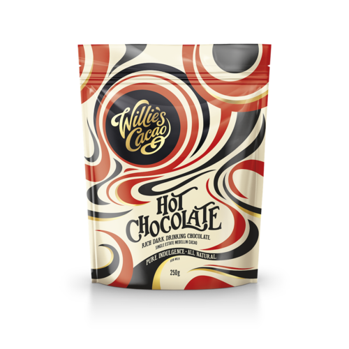 Willie's Cacao Cacaopoeder Willie's Hot Chocolate Medellin 250 gram