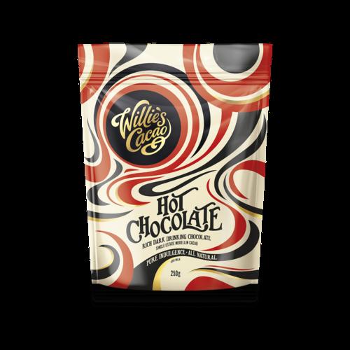 Willie's Cacao Cacaopoeder Willie's Hot Chocolate Medellin 250 gram