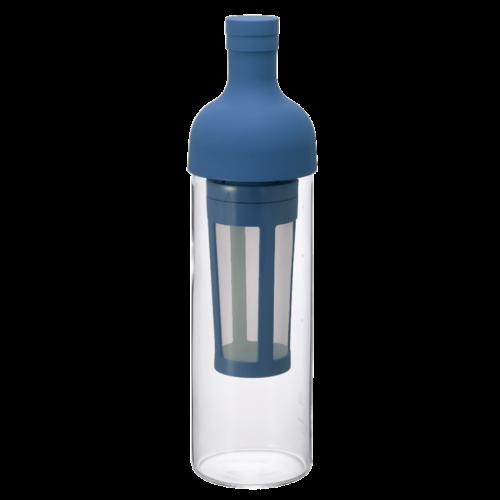 Hario Hario Cold Brew Filter in Coffee Bottle BLUE