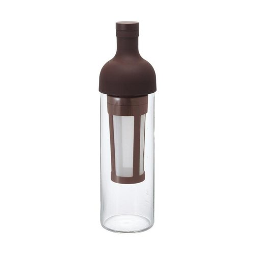 Hario Hario Cold Brew Filter in Coffee Bottle Bruin