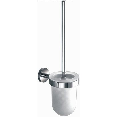 Toiletborstelgarnituur rond Chroom