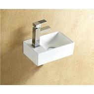 Combipakket keramische fontein met afvoer New Wonder L/R