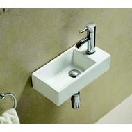 Combipakket keramische fontein met kraan en afvoer  Pax L/R