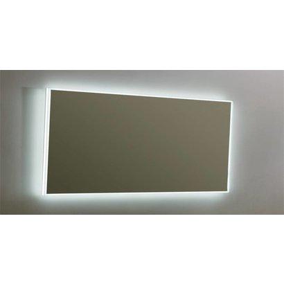 Aluminium spiegel infinity met rondom LED verlichting 160