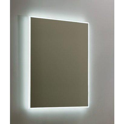 Aluminium spiegel infinity met rondom LED verlichting, 3 kleur instelbaar & dimbaar 60 incl. spiegelverwarming