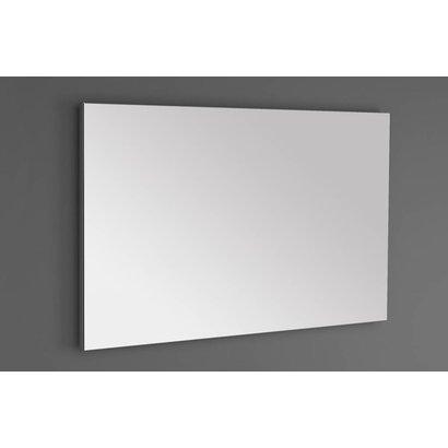 Aluminium standaard spiegel 100 incl. spiegelverwarming